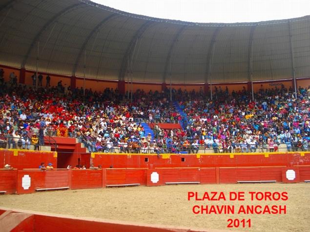 Plaza de toros, Chavín de Huantar - Huari - Ancash
